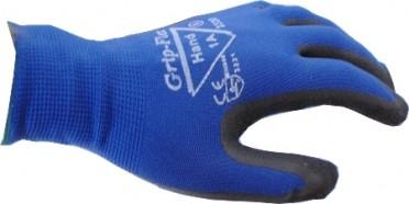 Hand 1A Grip-Flex kumipinnoitettu nylon
