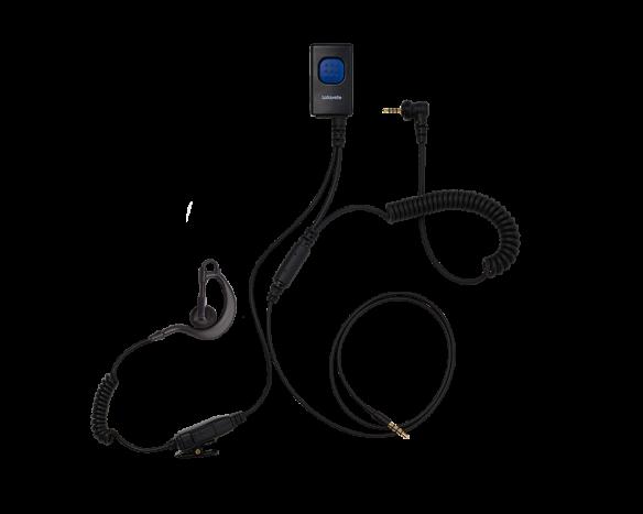 Lafayette M5/kännykkä miniheadset nappi (2552)