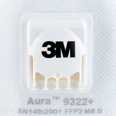 3M 9322+ Aura FFP2 NR D hengityssuojain
