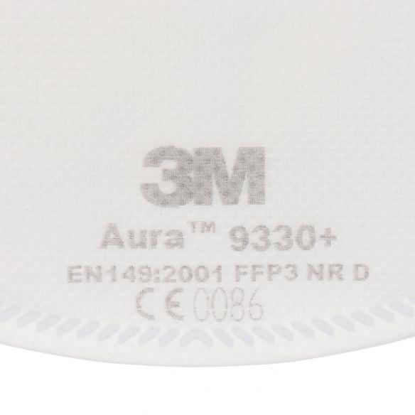 3M 9330+ Aura FFP3 NR D hengityssuojain