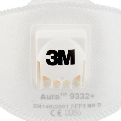 3M 9332+ Aura FFP3 NR D hengityssuojain