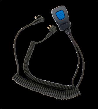 Lafayette M5 miniheadset kuulonsuojaimeen 2-pin (6523)