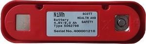 Scott Autoflow akku (NiMH) 4,8V