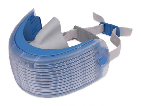 Air-Ace hengityssuojain kalvopakkauksessa, sininen