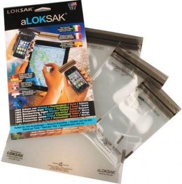aLOKSAK 3 erikokoista suojapussia älypuhelimille ja tabletille (aLOK3-ITM)