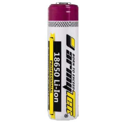 Armytek 18650 Li-Ion rechargeable protected battery 3500 mAh