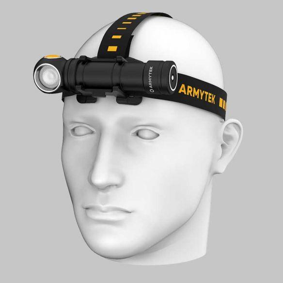 Armytek Wizard C2 Pro Max Magnet USB / XHP70.2 Valkoinen