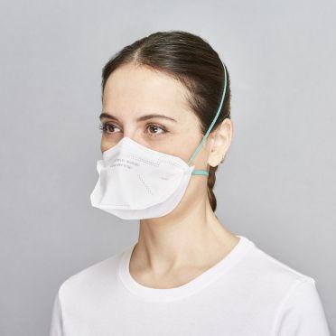 BLS 502 FFP2 NR hengityssuojain