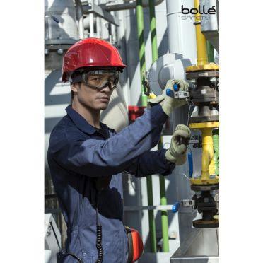 Bollé Safety Pilot II Suojamaski lasien päälle, platinum-pinnoite, CSP