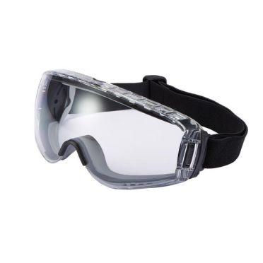 Bollé Safety Pilot II Suojamaski, lasien päälle, platinum-pinnoite, Kirkas