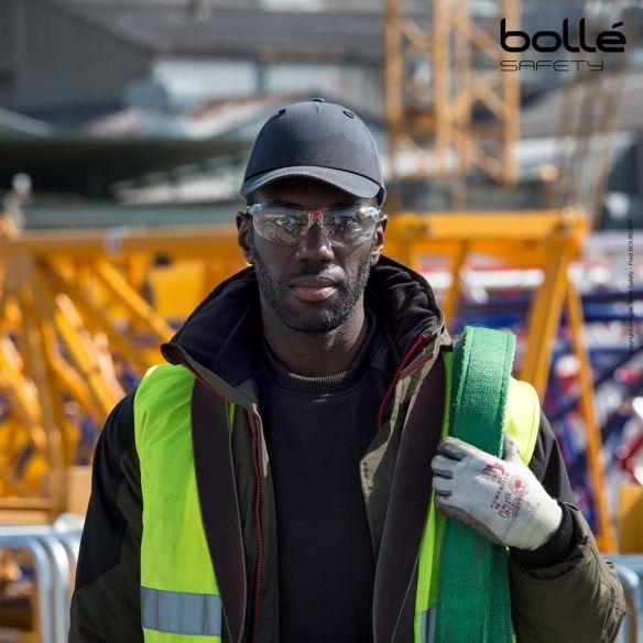 Bollé Safety IRI-s suojalasit, platinum-pinnoite, Kirkas