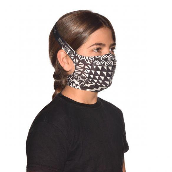 Buff Filter Mask kasvosuoja lapsille Bawe Black