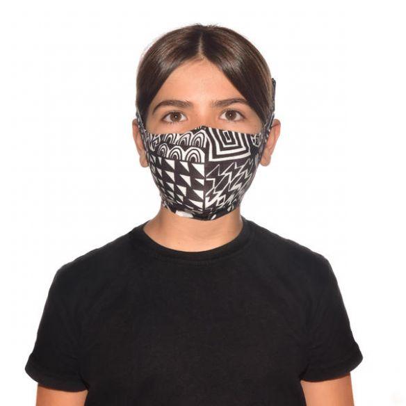 Buff Filter Mask Kids Bawe Black