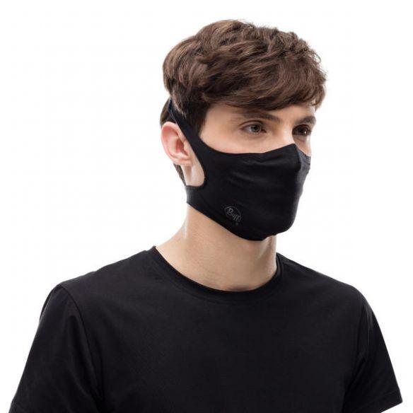 Buff Filter Mask kasvosuoja Solid Black