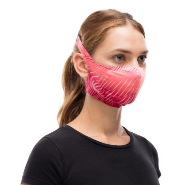 Buff Filter Mask -kasvosuoja Keren Flash Pink