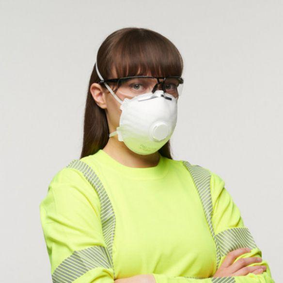 EAGLE FFP3V NR hengityssuojain, kotimainen