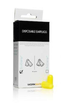 Worksafe EcoDamp korvatulpat (20 pr), SNR37