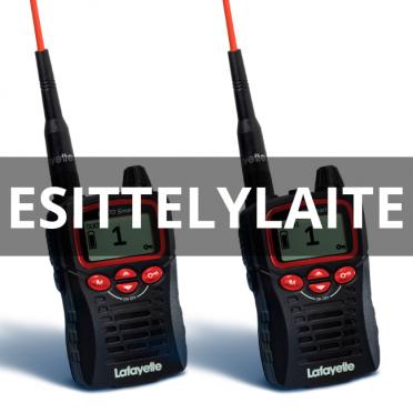 Esittelylaite: Lafayette Smart VHF puhelin 2 kpl paketti