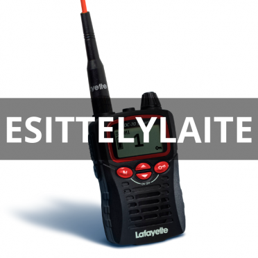 Esittelylaite: Lafayette Smart VHF puhelin
