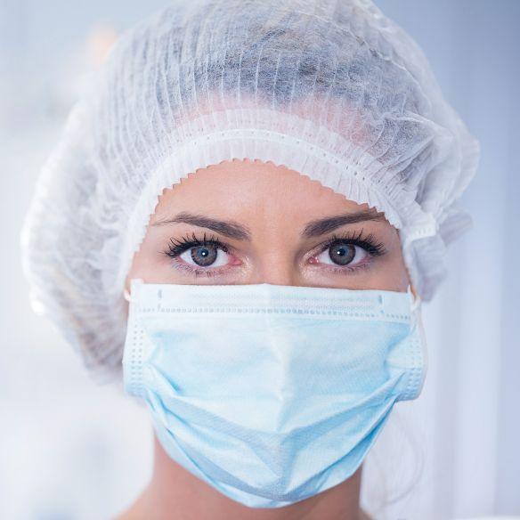 Granberg kertakäyttöinen kirurginen suusuoja IIR (50 kpl), roiskesuojaus