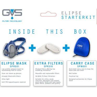 GVS Elipse aloituspakkaus P3 RD, koko M/L