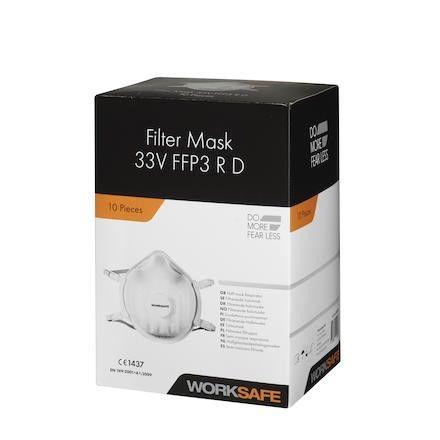 Worksafe hengityssuojain 33V FFP3 NR D
