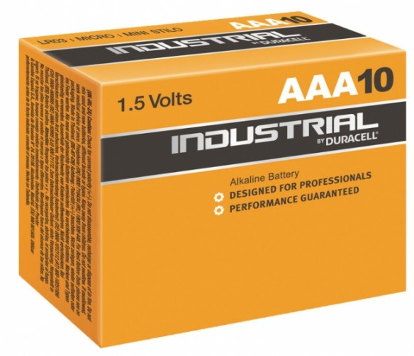 Duracell Industrial (Procell) AAA-paristo, 10 kpl