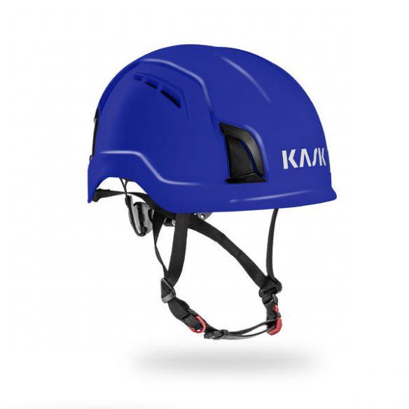 KASK Zenith Air suojakypärä tuuletusaukoilla, sininen