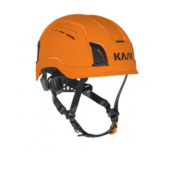 KASK Zenith X Air suojakypärä tuuletusaukoilla, oranssi