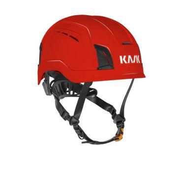KASK Zenith X Air suojakypärä tuuletusaukoilla, punainen