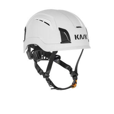 KASK Zenith X Air suojakypärä tuuletusaukoilla, valkoinen