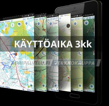 Ultracom ohjelmiston käyttöaika 3kk