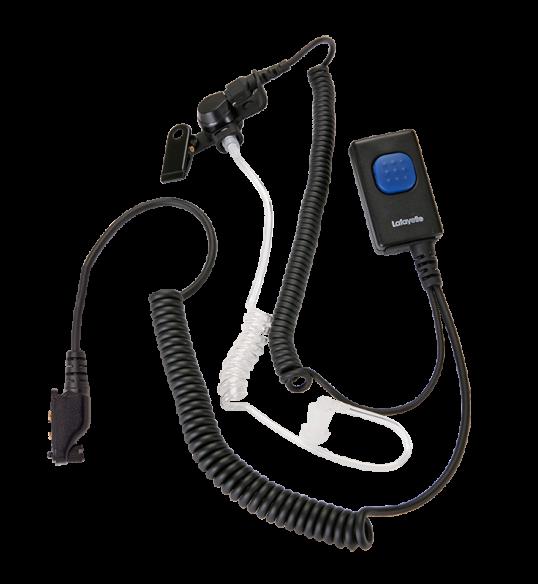 Lafayette security headset simpukka (2030) Kenzo VHF -puhelimeen