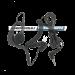 Lafayette sisäinen nappikorvakuuloke 3,5 mm liitännällä (2124)