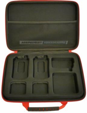 Salkku Lafayette Micro5 VHF -puhelimelle.