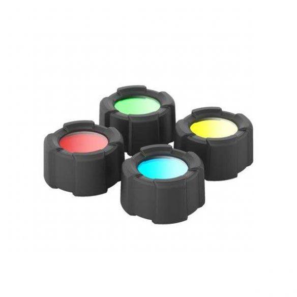 Ledlenser värilinssisetti 4 -väriä, MH10/H8R/H14.2