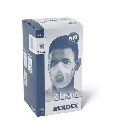 Moldex Classic 2555 FFP3 NR D hengityssuojain