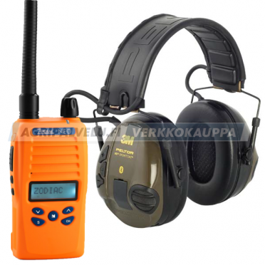 Zodiac Neo 68 BT VHF + 3M Peltor SportTac Light