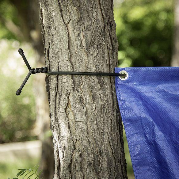 """NiteIze Gear Tie 32"""" (82cm) Rubber TwistTie, 2 kpl"""