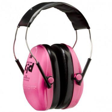 3M Peltor Kid lasten kuulonsuojain, SNR27, neonpunainen