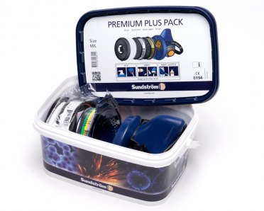 Sundström Premium Plus Pack puolinaamaripakkaus