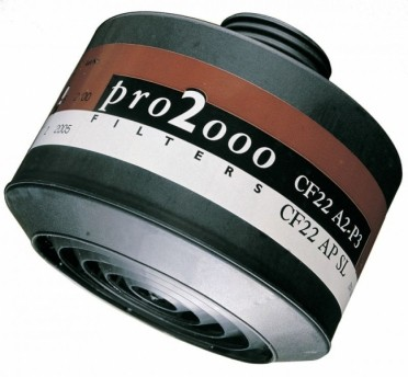 Scott Pro2000 CF22 A2-P3 kaasu/hiukkassuodatin