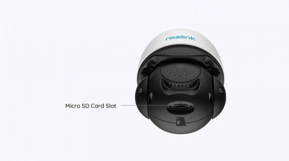 Reolink RLC-523WA 5MP PTZ Auto Tracking AI WiFi kamera ulkokäyttöön + 64GB muistikortti