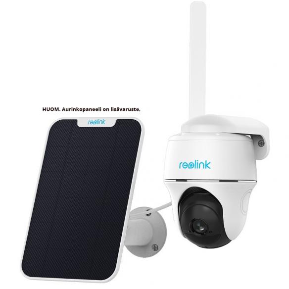 Reolink Go PT 4G kamera akulla ulkokäyttöön + 64GB muistikortti