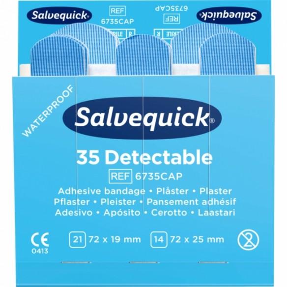 Salvequick Detectable Sininen täydennys 6735