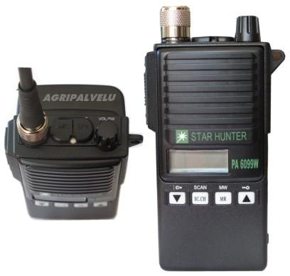 POISTUNUT TUOTE - Star Hunter PA6099W VHF -puhelin
