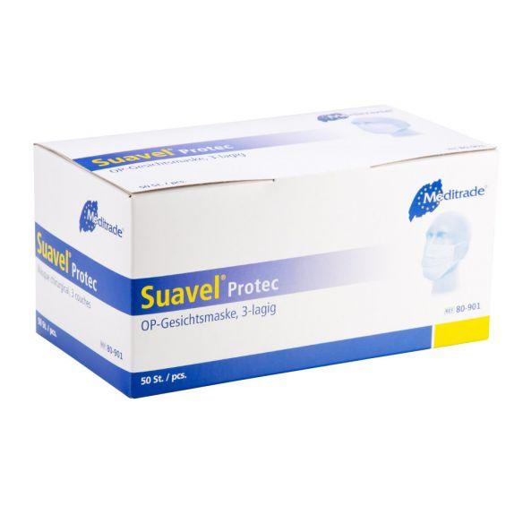 Suavel Protec kertakäyttöinen kirurginen suusuoja (50 kpl)