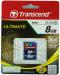 TRANSCEND SDHC Muistikortti 8GB, Class 10