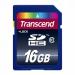 TRANSCEND SDHC Muistikortti 16GB, Class 10