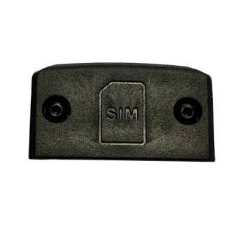 Ultracom R10 SIM-kortin luukku